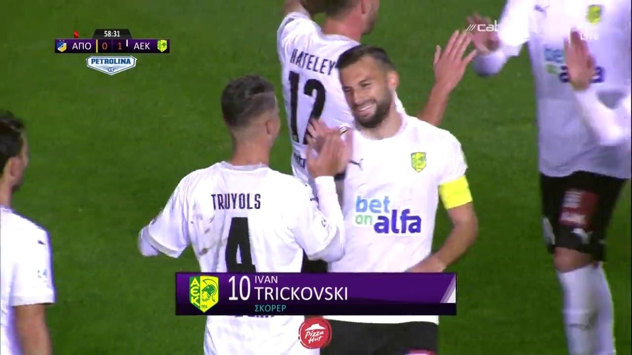 ΑΠΟΕΛ – ΑΕΚ 1-1 Highlights (13/01/2021)