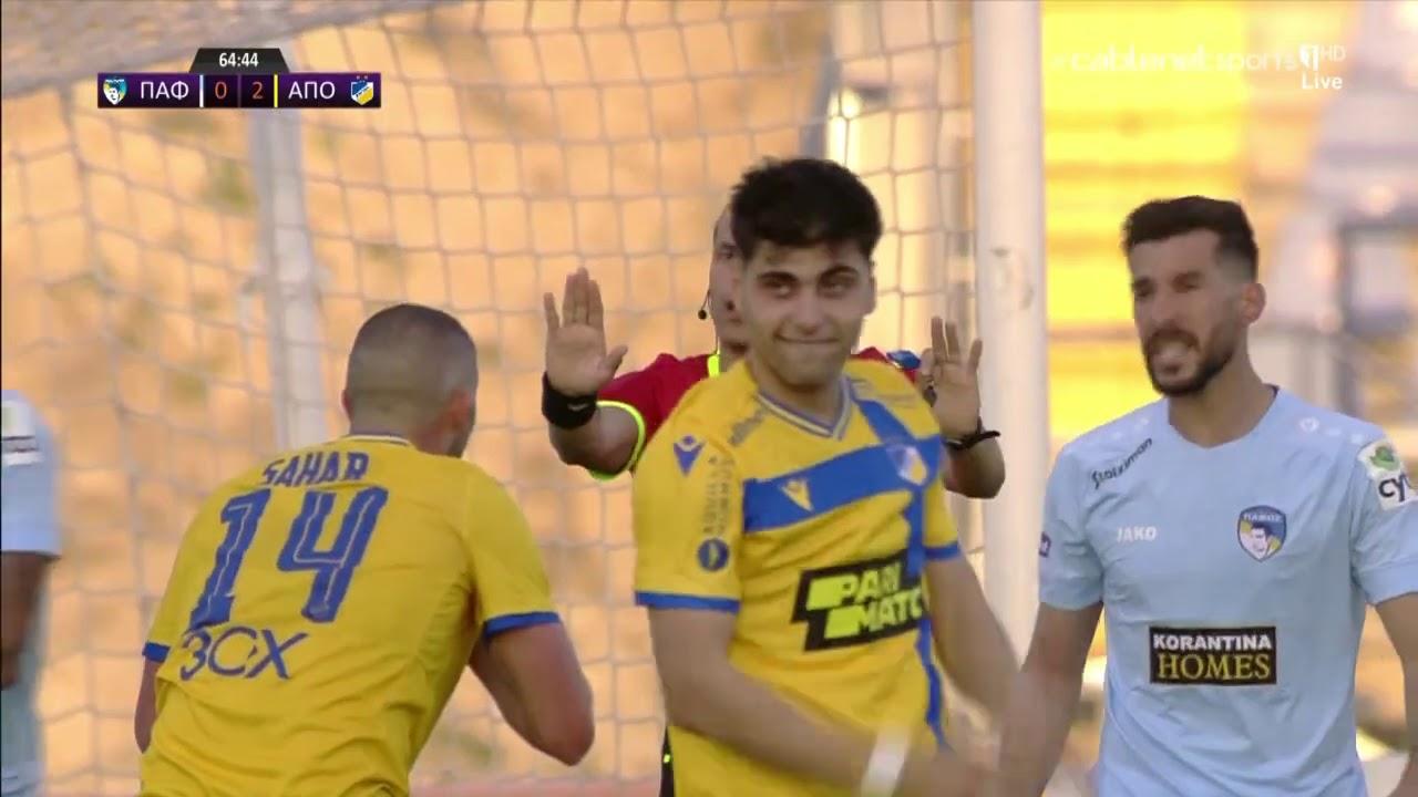 ΠΑΦΟΣ – ΑΠΟΕΛ 1-1 Highlights   (06/03/2021)