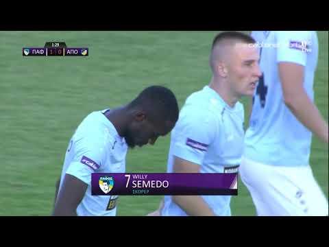 ΠΑΦΟΣ-ΑΠΟΕΛ 1-0 (21/08/2021)